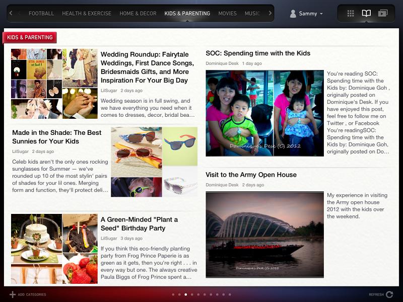 Newsloop feature