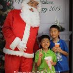 Popcorn and Santa