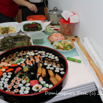 Chinese New Year Lunch Spread