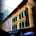 Scenes from the Streets of Chinatown Singapore
