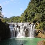Shi Fen Waterfall  Park 十分 瀑布公园