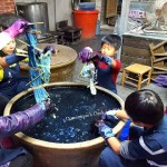 Tie & Dye  Crafts at Indigo Dying  House